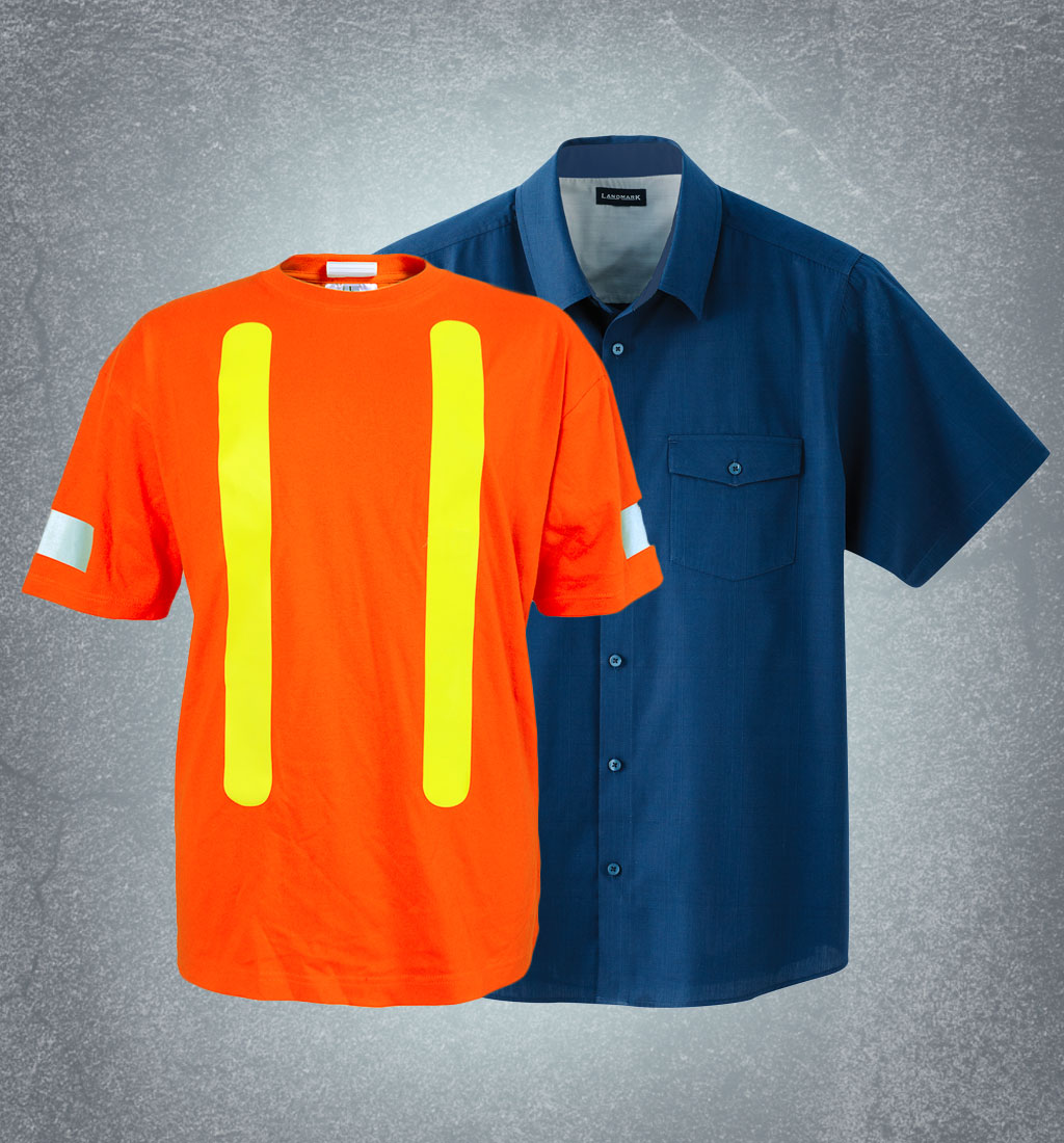 Workwear-Shirts-tshirts-Business-Wear-Staff-Uniforms-Artech-Promotional-Construction-clothing-Garments