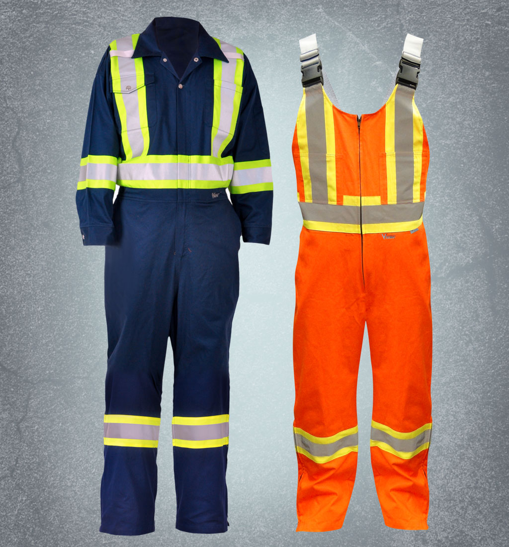 Safety High Visibility Coveralls and Overalls