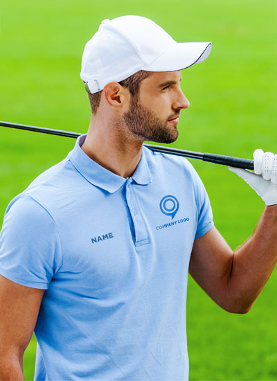 Promotional Polo Golf Shirts with Custom printing and embroidery, Artech Promotional sports wear and apparel, team uniforms, leisurewear, Orillia, Muskoka, Collingwood, Midland, Barrie, Newmarket, Peterbrough