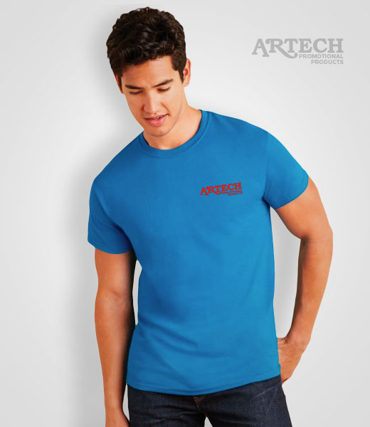 men's Gildan Softstyle T-shirt printing, screen printing tshirts, custom t-shirt printing, customize ts, printed t-shirts, merchandise, workweear, promotional clothing toronto, barrie, newmarket, Artech Promotional Products wear