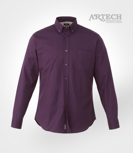 Men 39 s dress shirt embroidered promotional apparel and for Corporate shirts for men