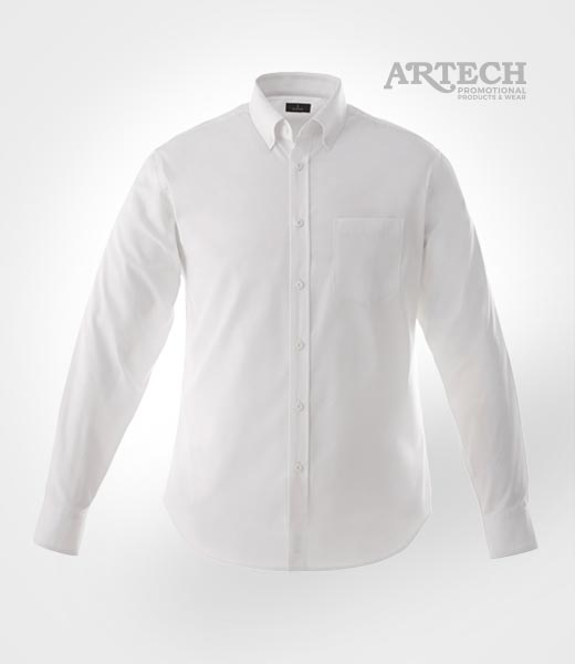 (M) Wilshire Long Sleeve Dress Shirt