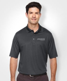 custom shirts, polo shirt, workwear, Embroidery logo promotional apparel, custom sports apparel, golf shirts, artech promotional wear, barrie, orillia, newmarket, bracebridge, peterborough, white polo shirts