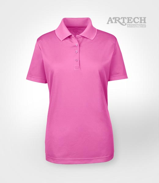 Custom shirts origin performance polo artech for Women s company logo shirts