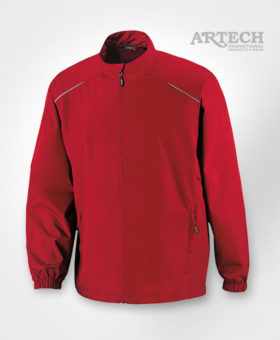 Promotional Jacket, Lightweight Jacket, custom embroidery, promotional apparel, clothing, fall jacets, barrie, orillia, peterborough, toronto, artech promotional products, corporate wear, uniforms, embroidery, classic red jacket, mens jacket coat, Lightweight Jacket, Promotional Apparel, Embroidery