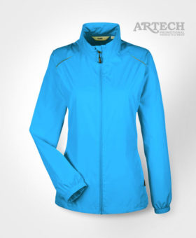 Promotional Jacket, Lightweight Jacket, custom embroidery, promotional apparel, clothing, fall jacets, barrie, orillia, peterborough, toronto, artech promotional products, corporate wear, uniforms, embroidery, electric blue jacket, womens jacket coat, Lightweight Jacket, Promotional Apparel, Embroidery
