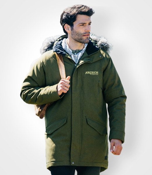 Winter Jacket, Promotional apparel, Roots 73, custom embroidery, canada,  corporate jackets