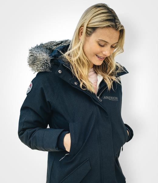Winter Jacket, Custom corporate apparel, Roots, custom embroidery, canada, corporate jackets, promotional apparel, artechpromotional products and wear, orillia, bradford, barrie, innisfil, peterborough, muskoka, newmarket, toronto, collingwood, kawartha lakes, custom apparel