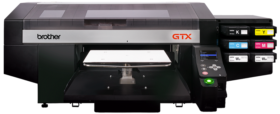 Brother GTX direct to garment printer, custom dtg t-shirt printing, orillia, barrie, muskoka, collingwood, kawartha lakes, custom shirts