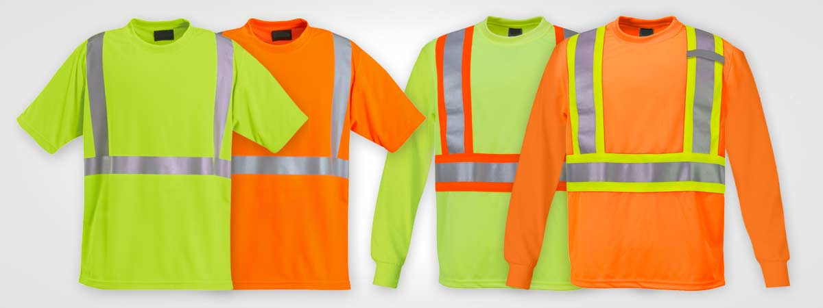 Cheap construction wear, custom safety wear, uniforms, high vis tee, high vis t-shirts, construction t-shirt, custom screen printing, custom embroidery, printed uniforms, screen printing barrie, orillia, bradford, muskoka, peterborough, collingwood, midland, newmarket