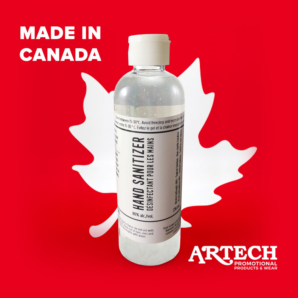hand sanitizer, orillia, barrie, promotional product, artech promotional products, branded hand sanitizer, ppe, face masks, peterborough, muskoka, bracebridge, gravenhurst, newmarket, aurora, innisfil, alliston, promo products